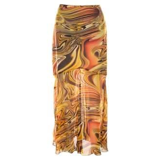 Escada Yellow Silk Skirts