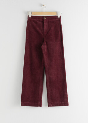 And other stories Relaxed Corduroy Trousers