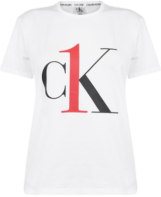Calvin Klein One Short Sleeve Crew Neck T Shirt