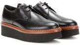 Tod's Platform Leather Derby Shoes