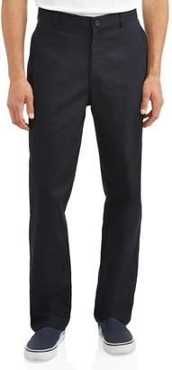 Real School Uniforms Young Men's Flat Front Pant