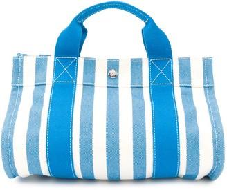 Hermes 2000s pre-owned Cannes beach bag