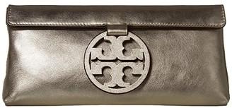 Tory Burch Miller Metallic Clutch