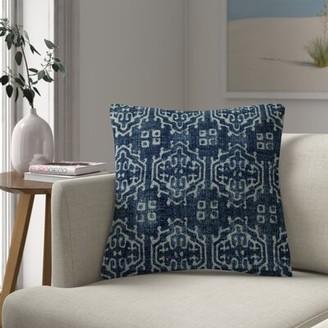 Milly Cotton Ikat Throw Pillow Foundstone