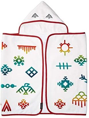 Pendleton Printed Hooded Baby Towel (Grey/Shared Paths) Bath Towels