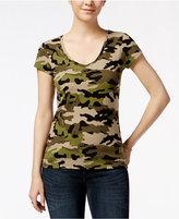 Energie Juniors' Mila Printed V-Neck T-Shirt