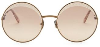 Bottega Veneta 60MM Round Sunglasses