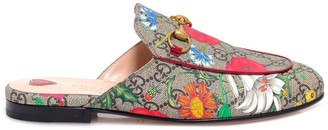 Gucci Princetown GG Flora Mules