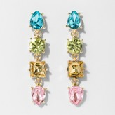 BaubleBar SUGARFIX by Geometric Gem Drop Earrings