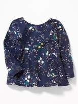 Old Navy Graphic Bow-Back Swing Tunic for Toddler Girls