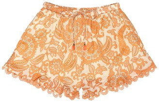 Zimmermann Kids Exclusive to Mytheresa Peggy cotton shorts