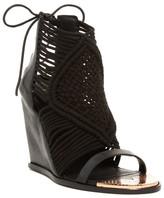 Ivy Kirzhner Mykonos Woven Wedge Sandal