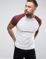 Brave Soul Contrast Raglan T-Shirt