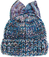 Federica Moretti Bow beanie - women - Wool/Polyacrylic - One Size