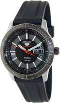 Seiko Men's 5 Automatic SRP341K2 Rubber Automatic Watch with Dial