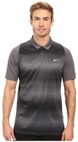 Tiger Woods Golf Apparel by Nike Nike Golf Vl Max Sphere Stripe Polo
