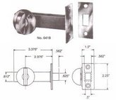 Baldwin 0418 030 Mortise Door Bolt