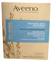 Aveeno Soothing Bath Treatment, Fragrance Free, 8 packets