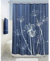 Shine Company SUN-Fabric Shower Curtain, 72 x 72-Inch, Purple/