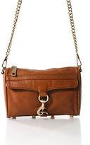 Rebecca Minkoff Brown Leather Morning After Shoulder Handbag Size Small