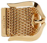 Lanvin Gold Buckle Ring