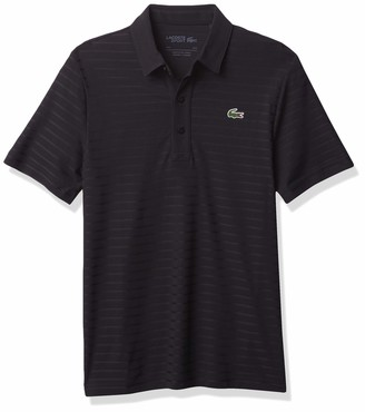 Lacoste Men's Sport Short Sleeve Jacquard Techincal Polo Shirt