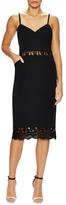 Ava & Aiden Lace Cotton Inset Midi Dress