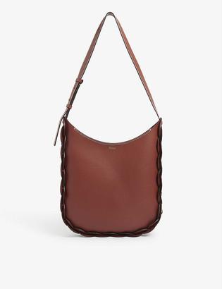 Chloé Darryl large leather hobo bag