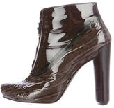 Louis Vuitton Embossed Ankle Boots