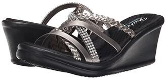 Skechers Cali - Rumblers - Wild Child (Pewter) Women's Sandals