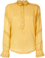 Etoile Isabel Marant Louna blouse - women - Cotton/Polyester - 38