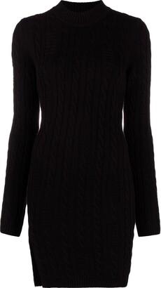 GCDS High Neck Knitted Dress
