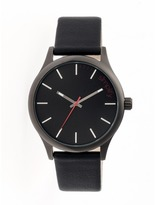 Simplify The 2400 Collection SIM2404 Men's Stainless Steel Watch with Leather Strap