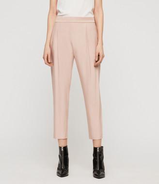 AllSaints Aleida Tapered Mid-Rise Pants