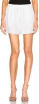 Chloé Crepe De Chine Shorts