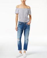 7 For All Mankind Josefina Ripped Boyfriend Jeans