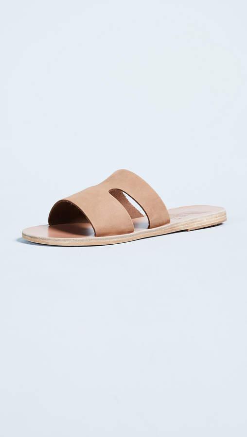 Ancient Greek Sandals Apteros Slide
