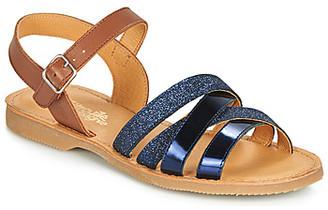 Citrouille et Compagnie JOLICOTE girls's Sandals in Blue