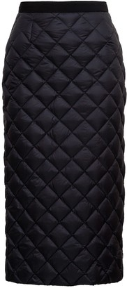 Moncler Quilted Pencil Skirt