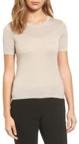 BOSS Women's Fineen Dot Jacquard Sweater