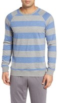 Daniel Buchler Men's Stripe Sweatshirt