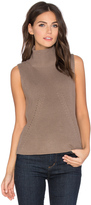 525 America Turtleneck Sleeveless Sweater