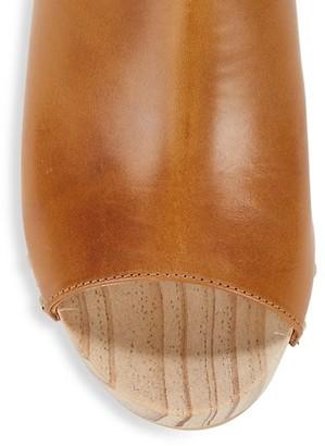 Etienne Aigner Yael Leather Clogs