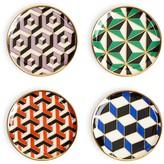Jonathan Adler Versailles Coasters, Set of 4