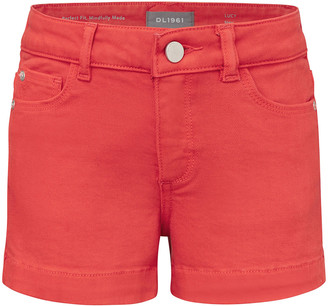 DL1961 Girl's Lucy Denim Shorts, Size 7-16
