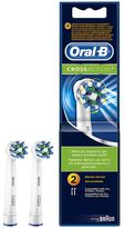 Oral-B Oral B CrossAction® Replacement Electric Toothbrush Heads 2 counts