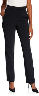 Carolina Herrera High-Rise Tuxedo Pants