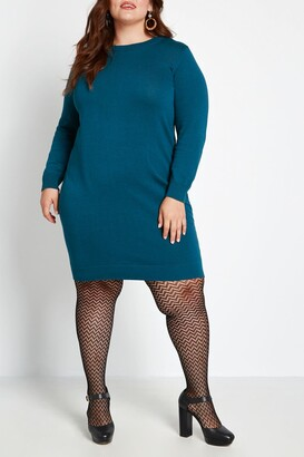 ModCloth Casual Message Sweater Dress