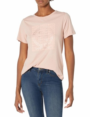 Nautica Women's Soft Cotton Graphic T-Shirt
