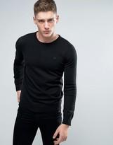 Lindbergh Sweater In Black Cotton